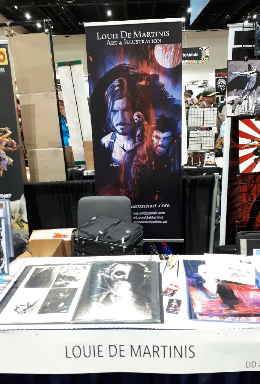 SDCC 2017 Artists Alley table DD-20