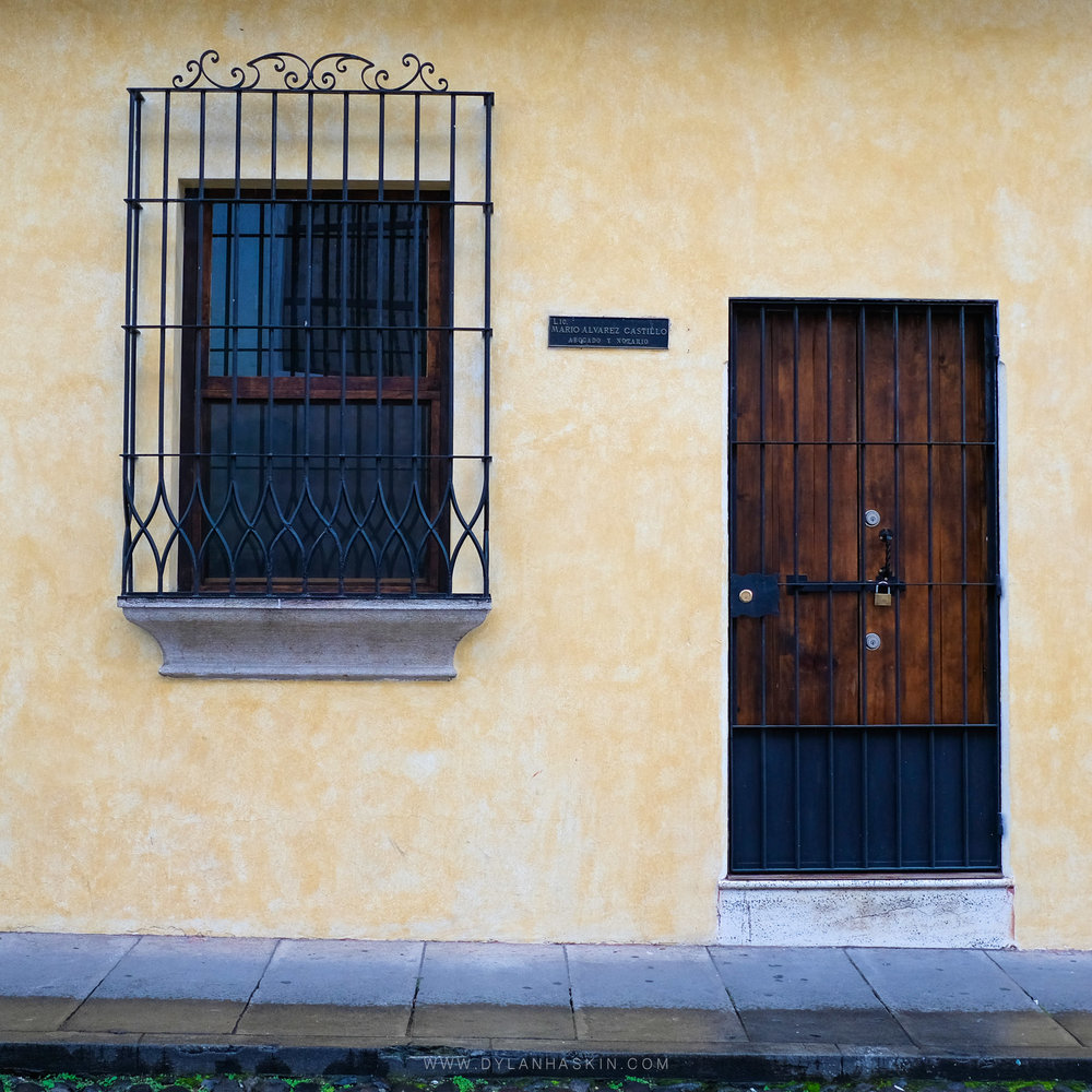 Guatemala Doors and Windows
