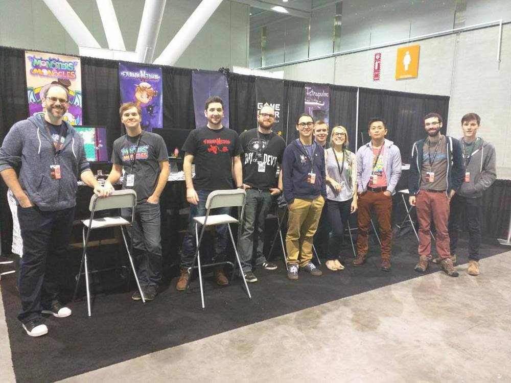 Paul at PAX East. What a lovely group of people.