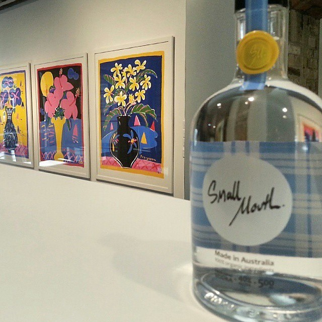 Small Mouth Vodka collaboration with Ken Done Gallery event as part of Spectrum Now festival.