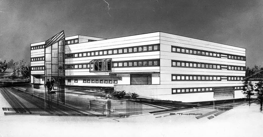 Hovedkontoret på Skullerud.