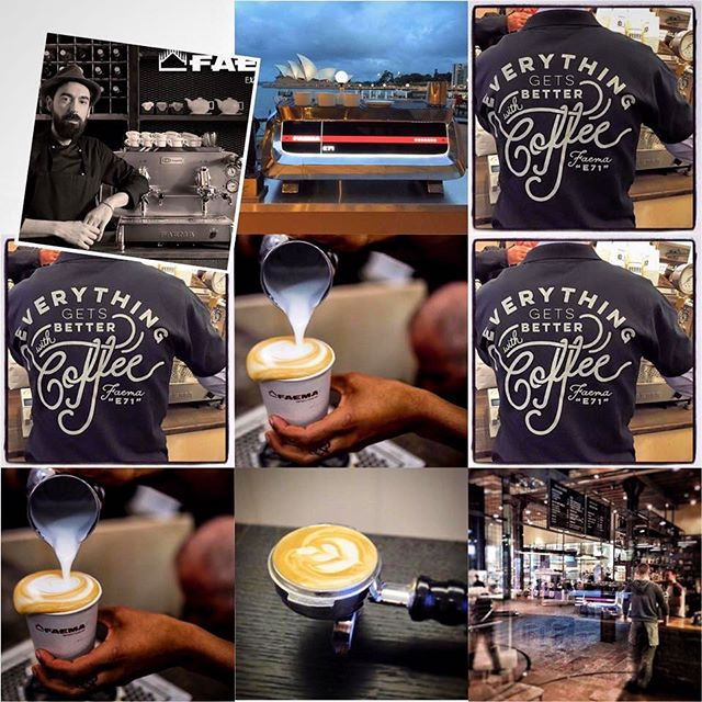 Når vi lanserer Faema E71 blir det alvor. Verdens ledende baristaer har kommet med sine ønsker, og nå får de alt oppfylt. Vi gleder oss. ☕ #faema #primulator #e71 #høsten2016 #scae #baristalife #espresso#cappuccino #barista