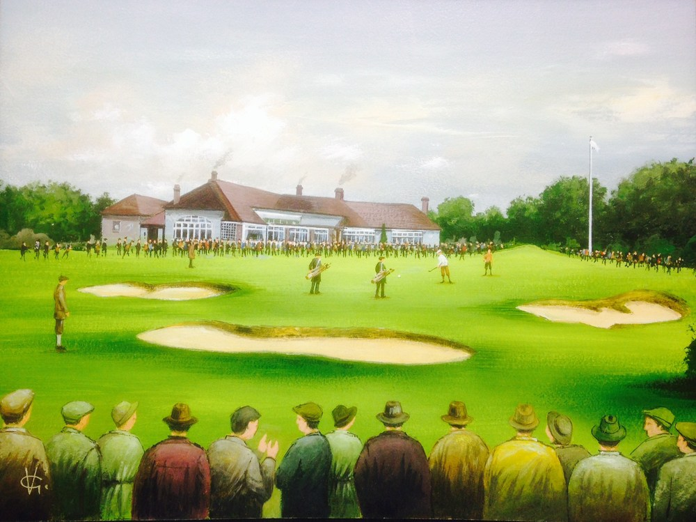 the ryder cup, moortown 1929