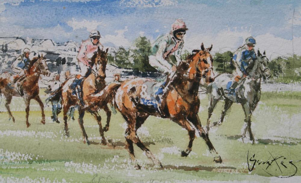 racing sketch