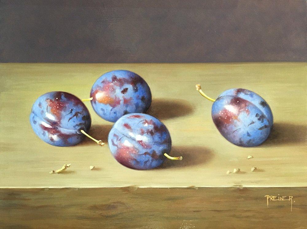 4 plums