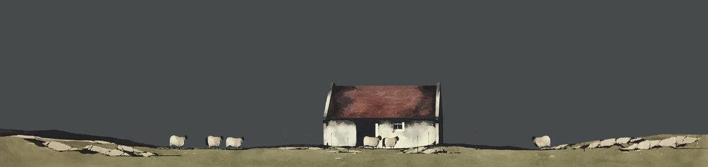 old building, skye