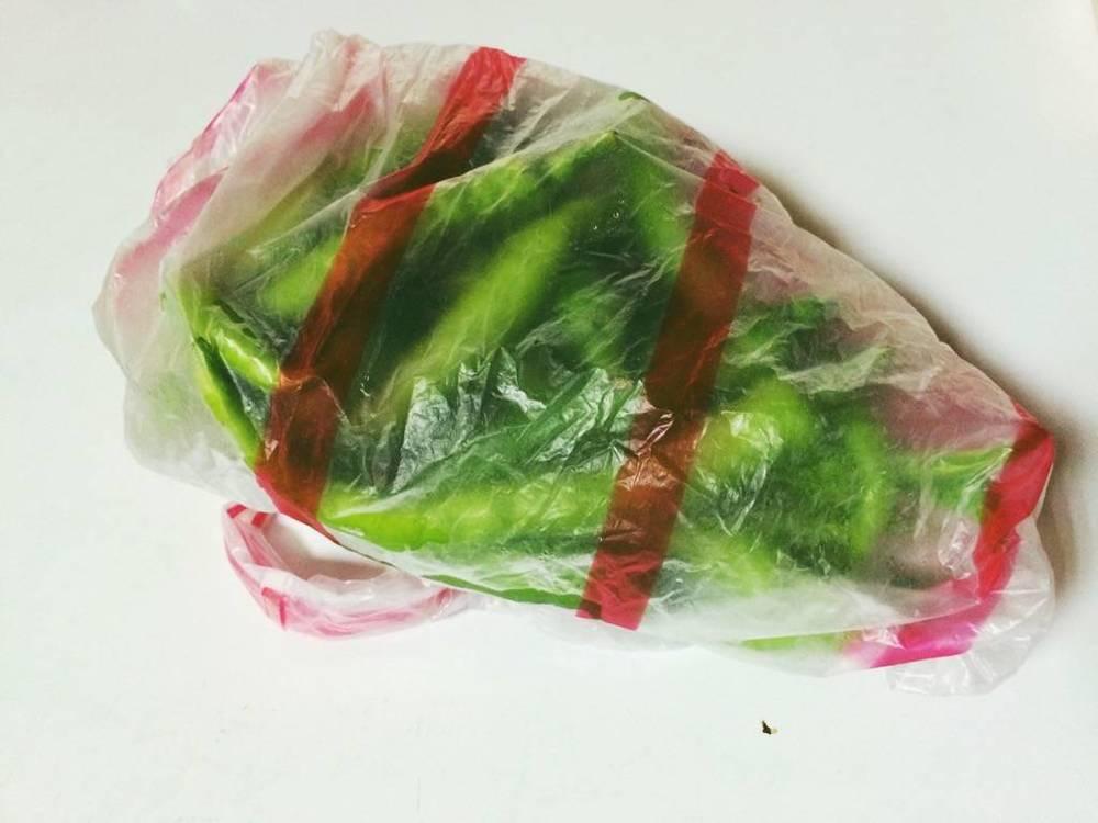 應該是台灣塑膠袋裡的經典設計。