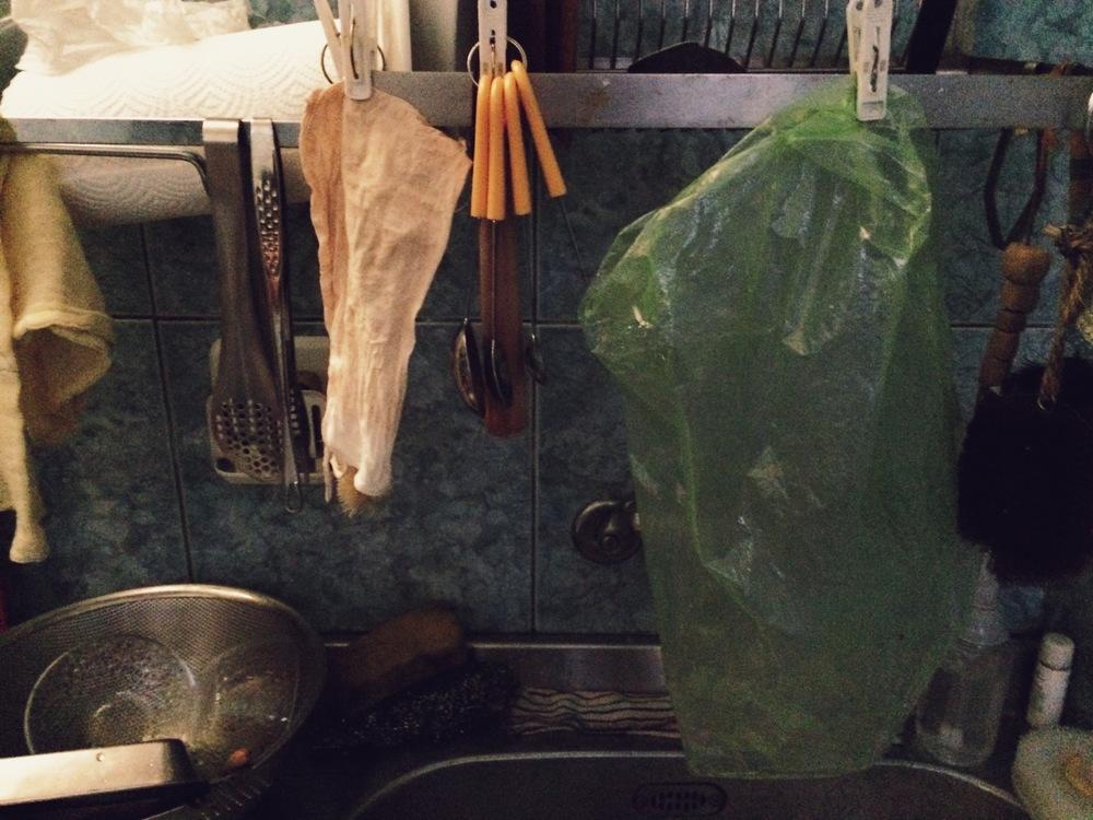 洗乾淨夾著風乾,無限次再使用!