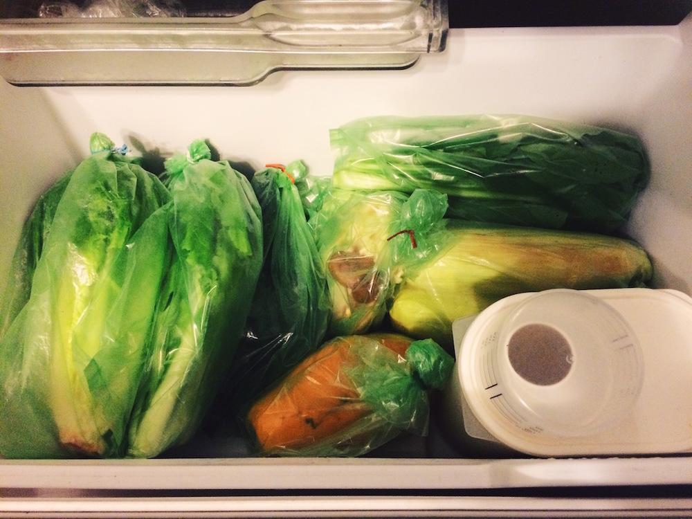 有了愛菜果,冰箱看起來就整齊劃一。