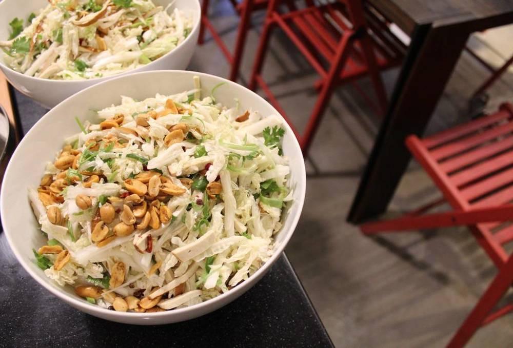 白菜得新鮮,只得當天才能切。
