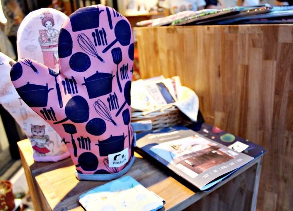 愛藝想的設計隔熱手套