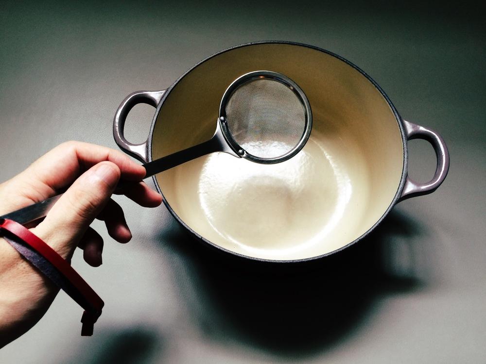 小撈杓in 20公分鑄鐵鍋
