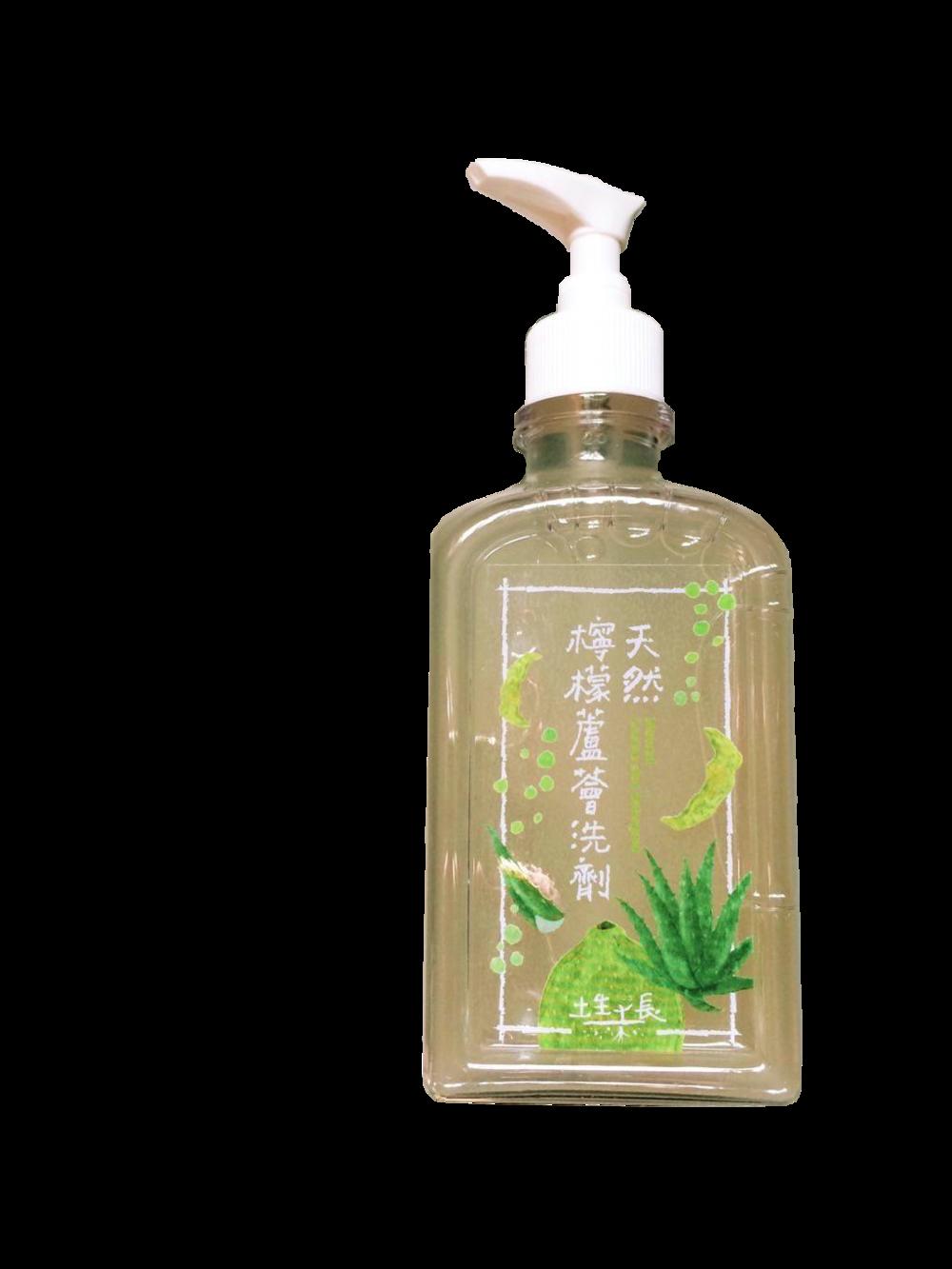 天然蘆薈檸檬洗潔劑 $250