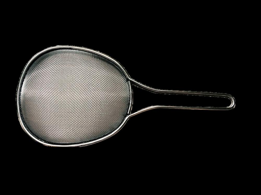 不鏽鋼大撈杓(粗孔) $780