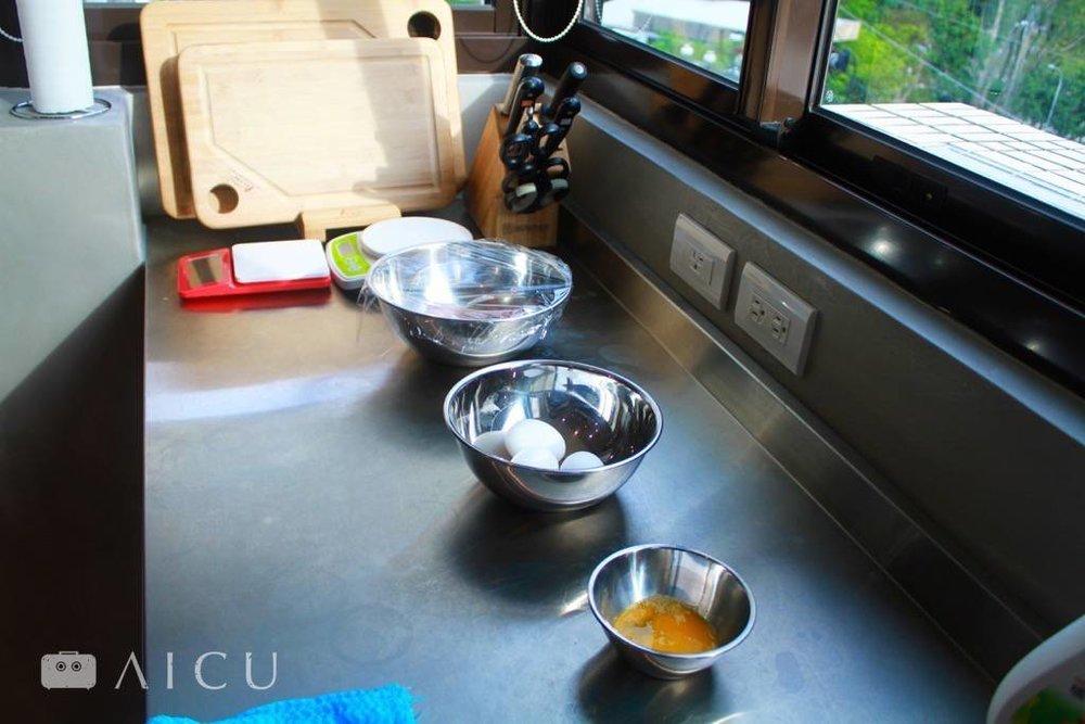 料理的不鏽鋼小幫手們,潔淨好實用。