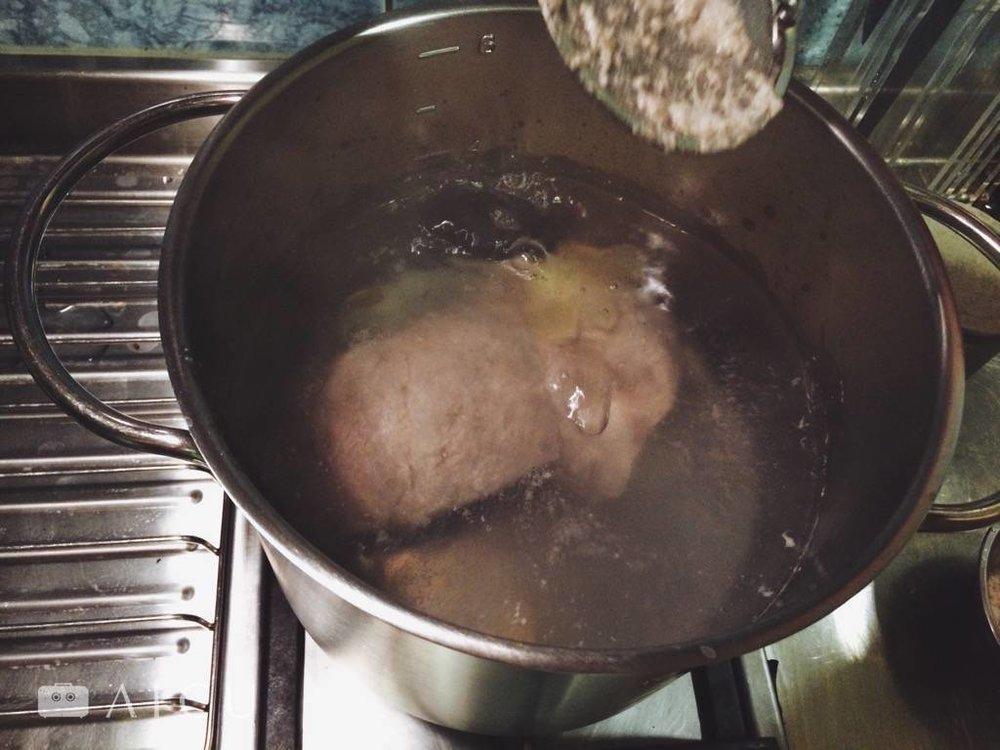 清澈的高湯