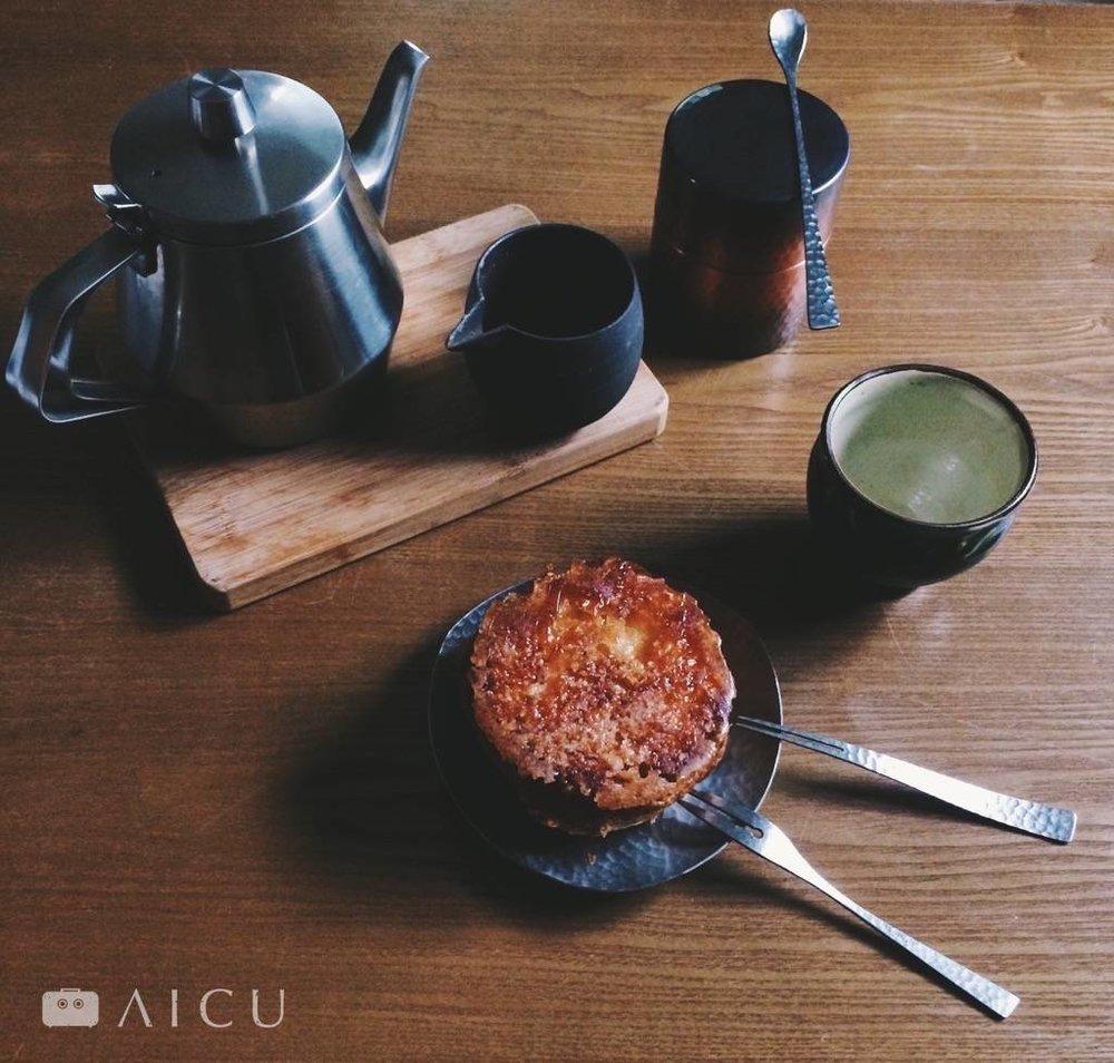 一壺茶,一個路上買的點心,就是屬於自己的療癒時光。