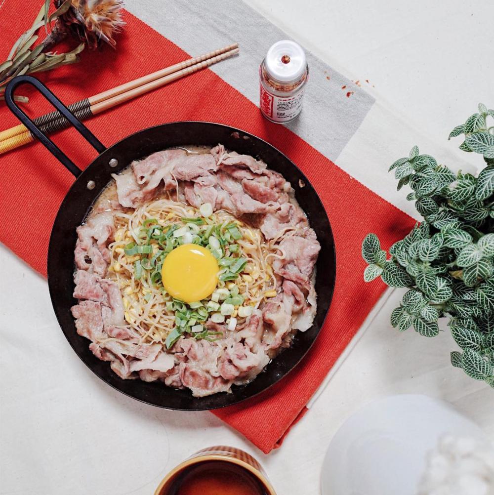 味噌豆芽燒豬肉片