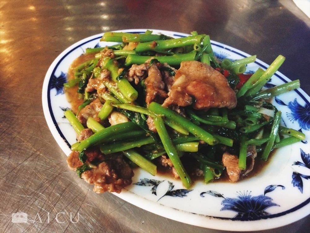 台北|大橋頭延三夜市本土羊肉 - 40多年的鐵鍋熱炒