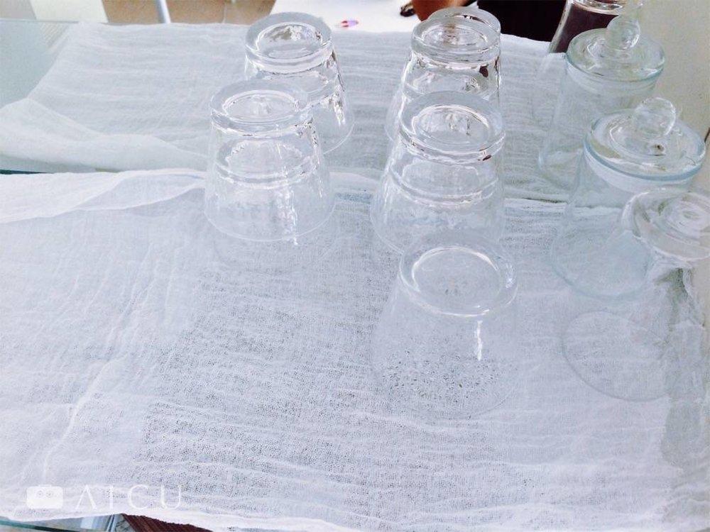 綿紗巾 - 鋪底吸水又整潔