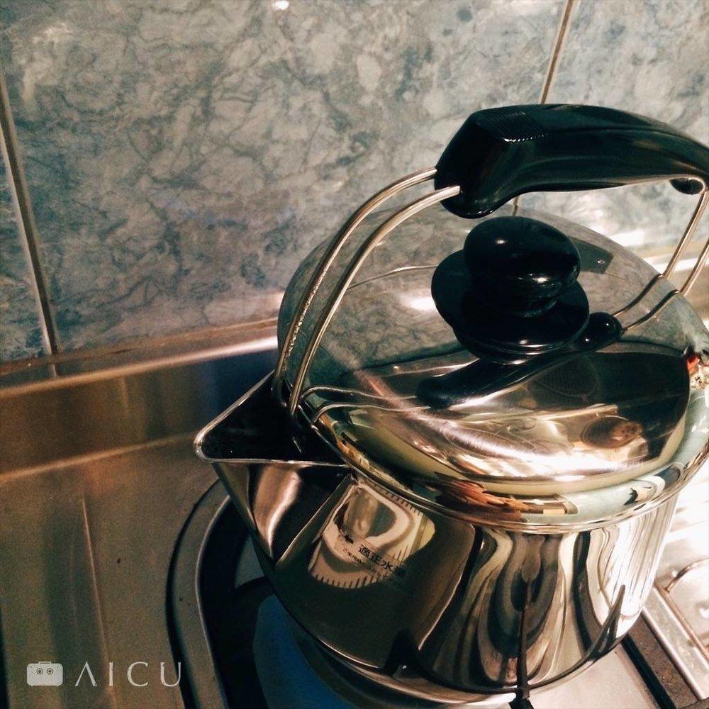 颱風過後你需要多煮3分鐘 - 讓滾沸的蒸汽將雜質帶走
