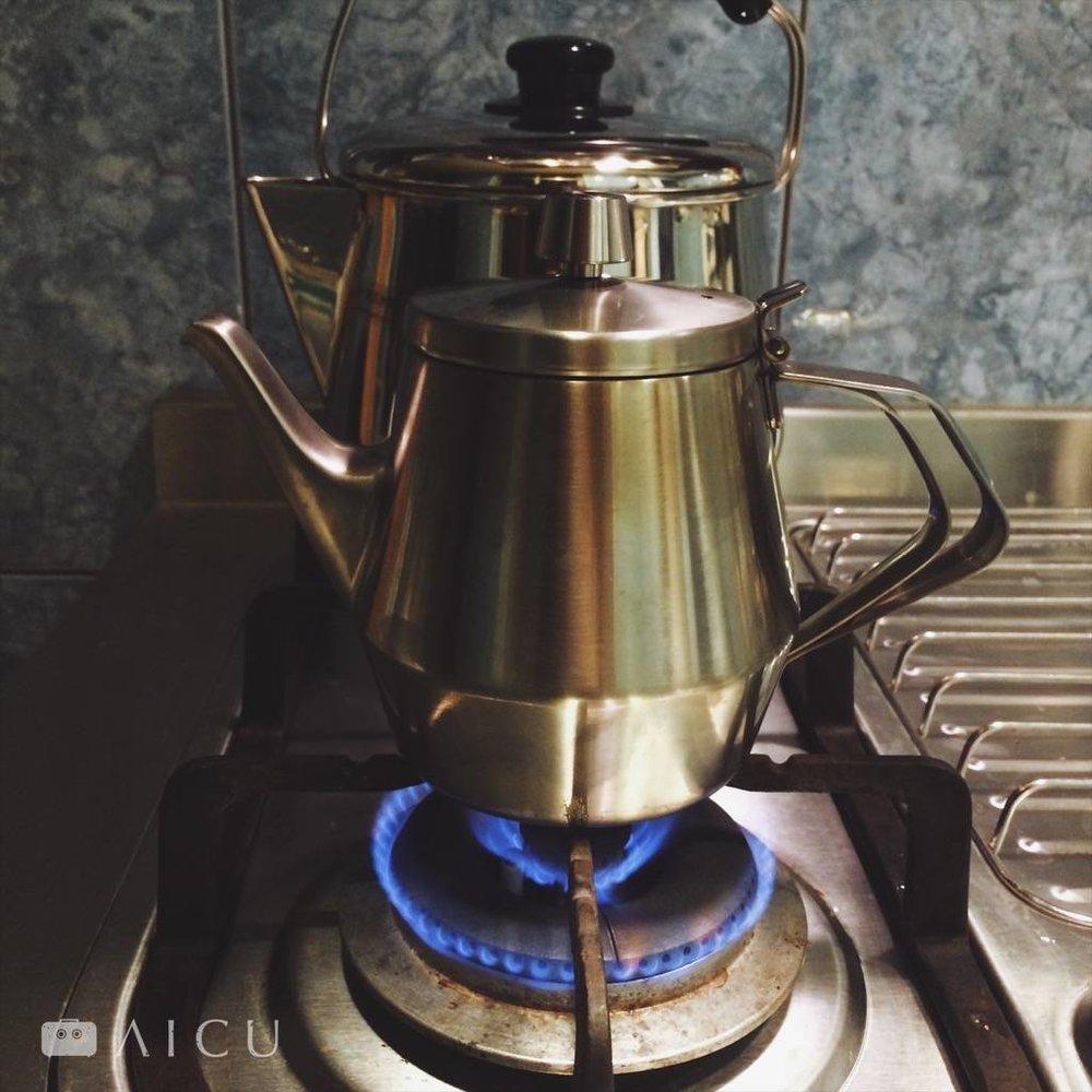 可直火加熱的不鏽鋼茶壺 - 一滴不漏的好壺嘴