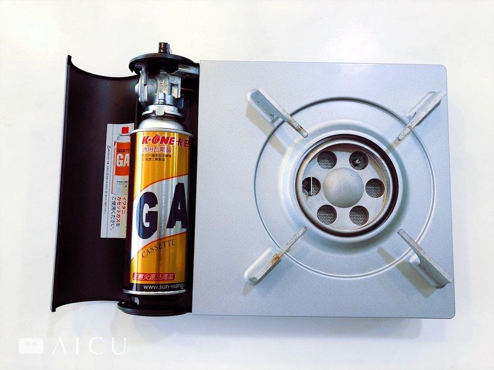 現在有許多移動式瓦斯爐不僅外型漂亮,且火力集中,加熱效率更好。但記得瓦斯罐要確實裝好,且在通風處使用。