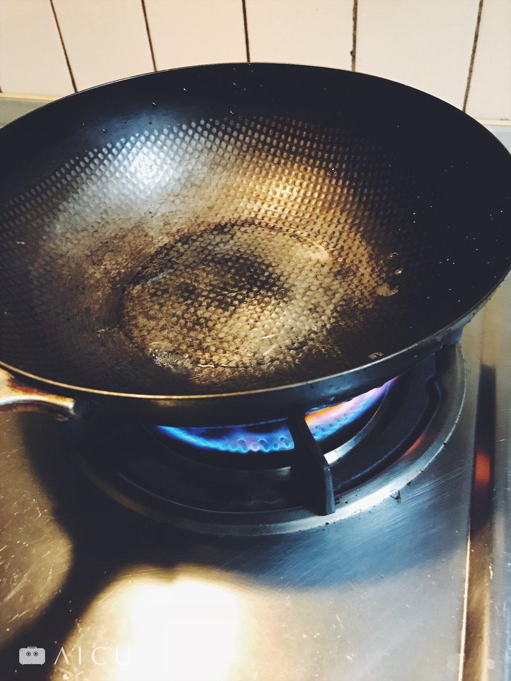 記得要烘乾 - 擦乾是不夠的,一定要重新烘乾。別擔心,開火10秒就足夠。