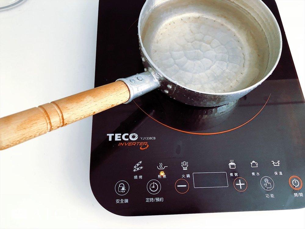 無火焰但功率高的IH爐 - 因此銅、鋁等加熱太快者不可於其上使用。