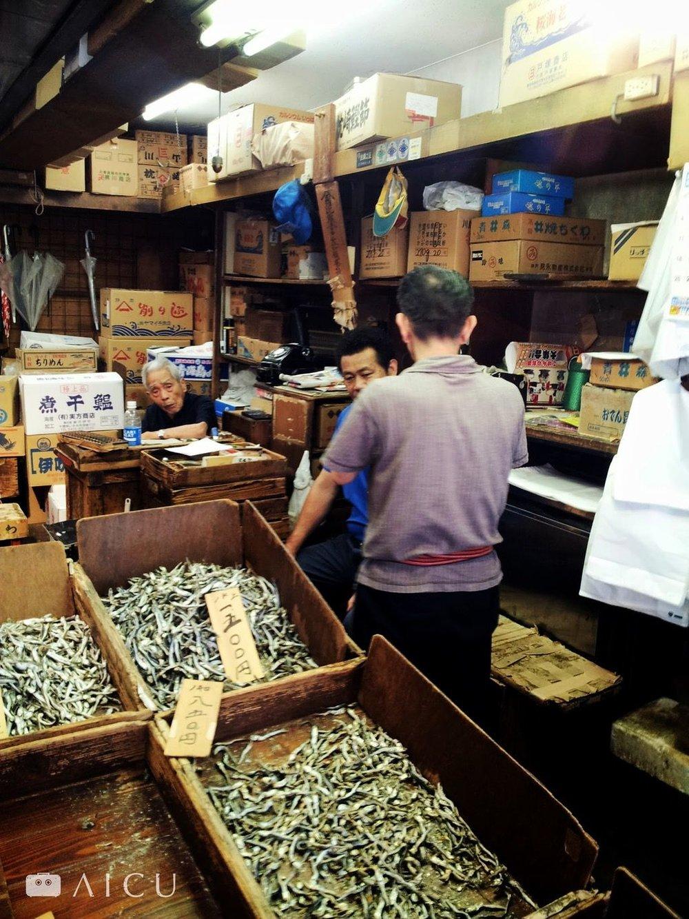 像這樣實在的老店,在場外市場越來越少見。