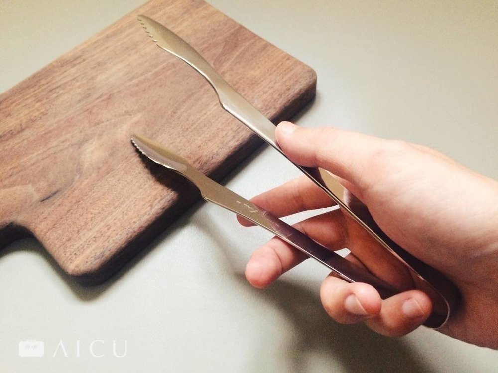 不鏽鋼料理夾 -