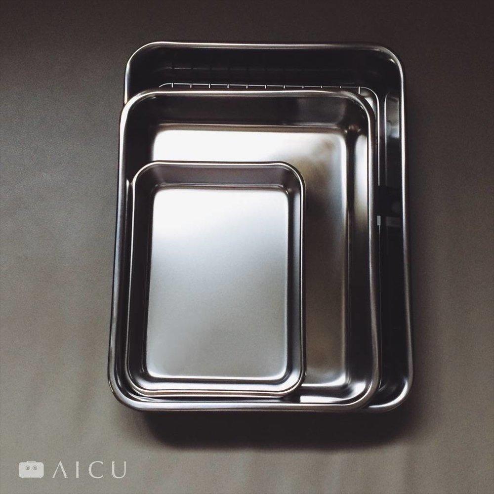 不鏽鋼調理盤 - 18-8一體成形