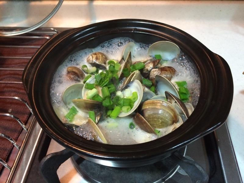 土鍋蒸蛤蜊 - 原汁原味不用炒