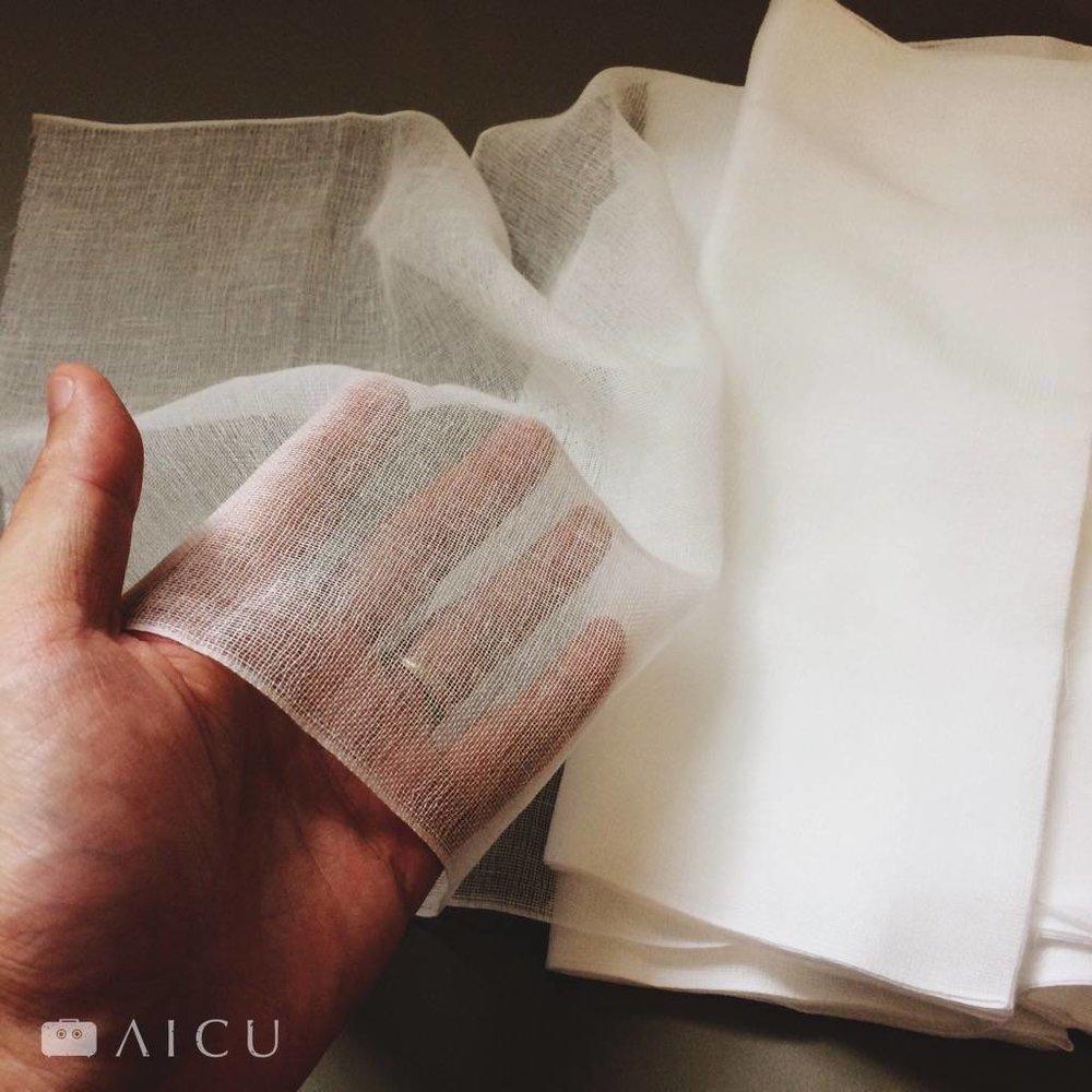 愛玉必備 木棉紗巾 - 可清潔、可過濾、可揉愛玉。一包10公尺,隨你剪成你需要的長度。