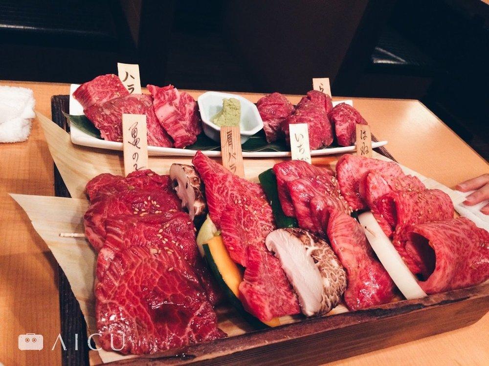 日本燒肉競爭激烈,於是更細分部位品嚐。