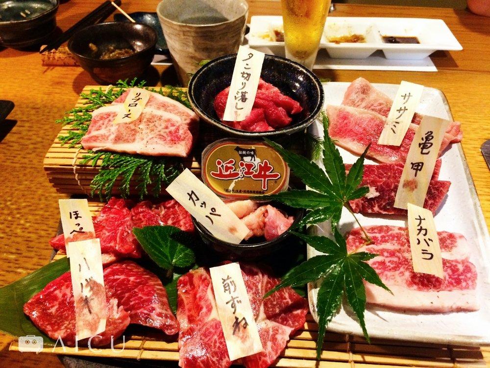 而且會標示部位,很值得台灣牛肉發展參考。