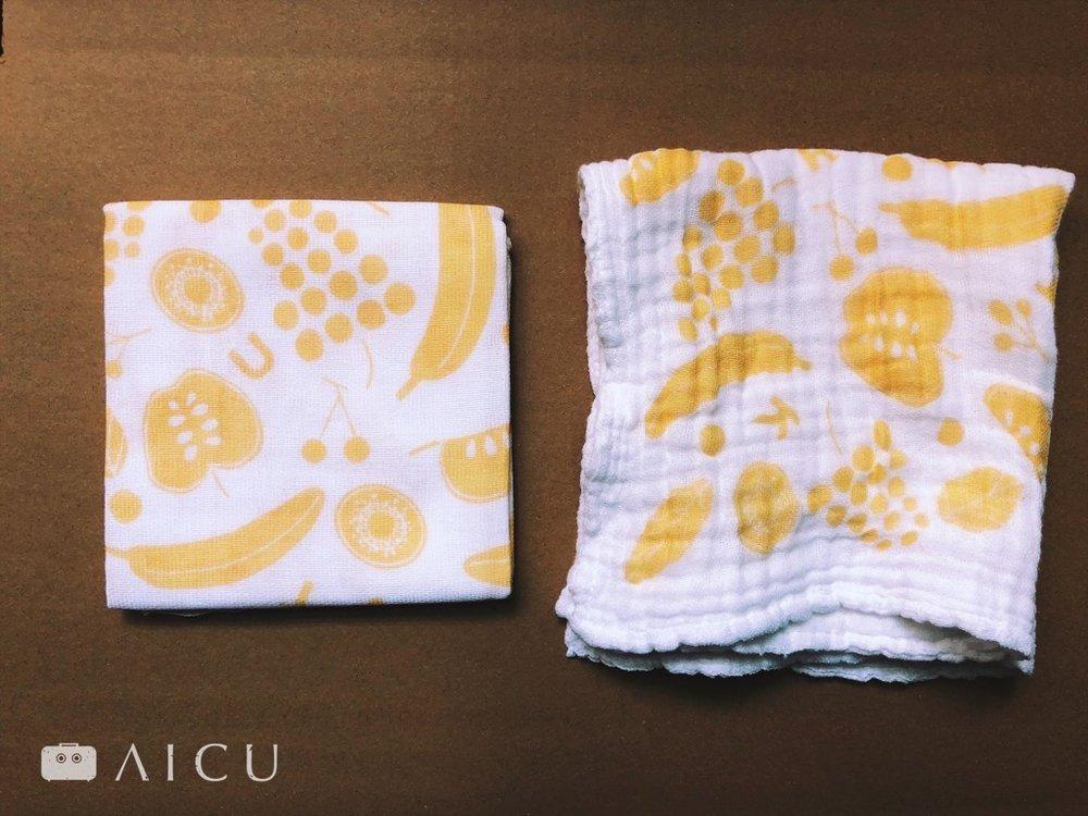 用久變得蓬鬆,是好綿布的特性。