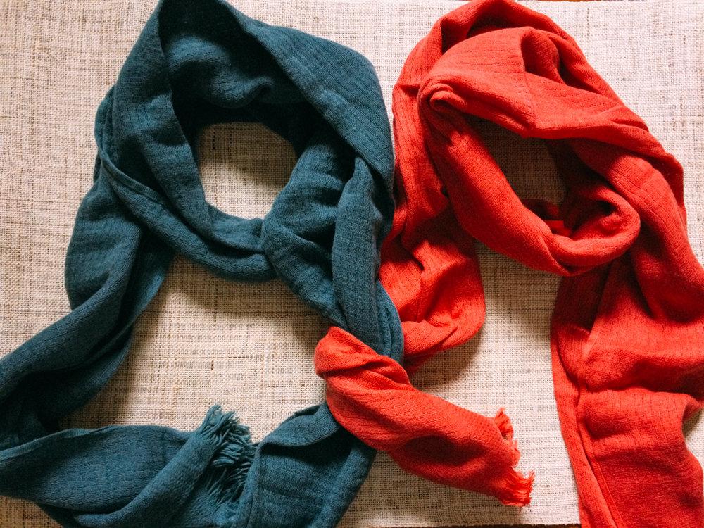 保暖發熱圍巾 - 長190公分 寬40公分,保暖密不透風。