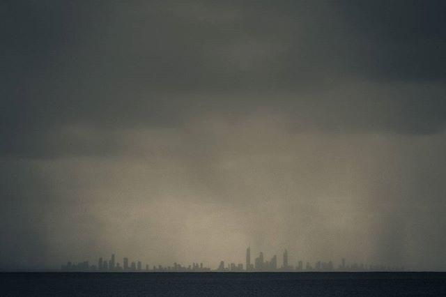 #surfersparadise #goldcoast #queensland #australia #dark #stormy  www.facebook.com/wildphotoaustralia www.wildphotoaustralia.com