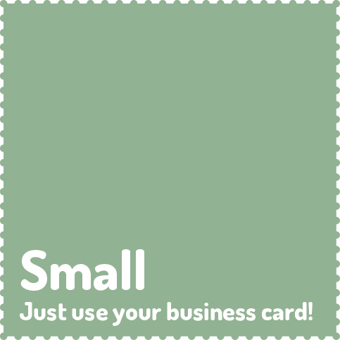 12 x full colour business card, normally €60 per issue, €40 per issue after discount €480 + IVA
