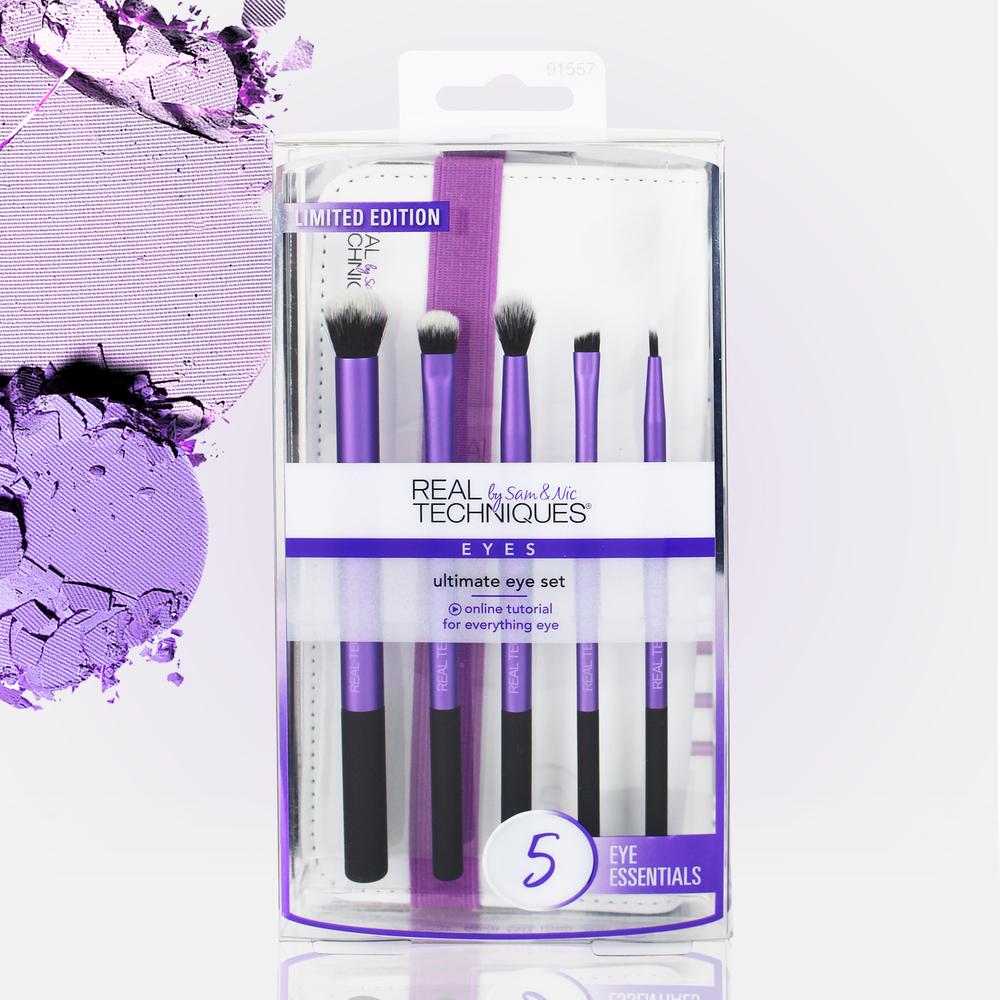 Real Techniques_Packaging_Jade Purple Brown