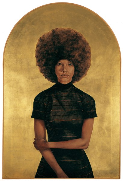 Barkley Hendricks_ jade purple brown