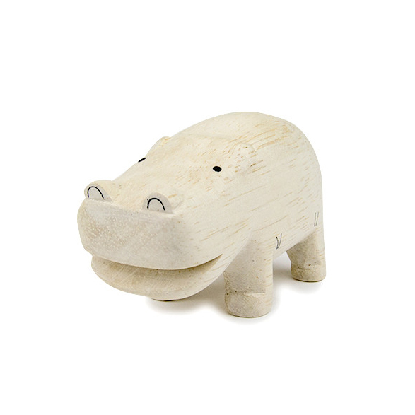 Wood hippo kottocurio for Hippo table for sale