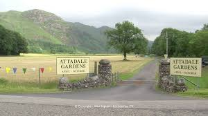 Entrance to Attadale Estate, Gardens and Holiday Cottages