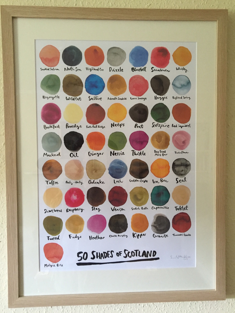 Every colour that Scotland has to to offer