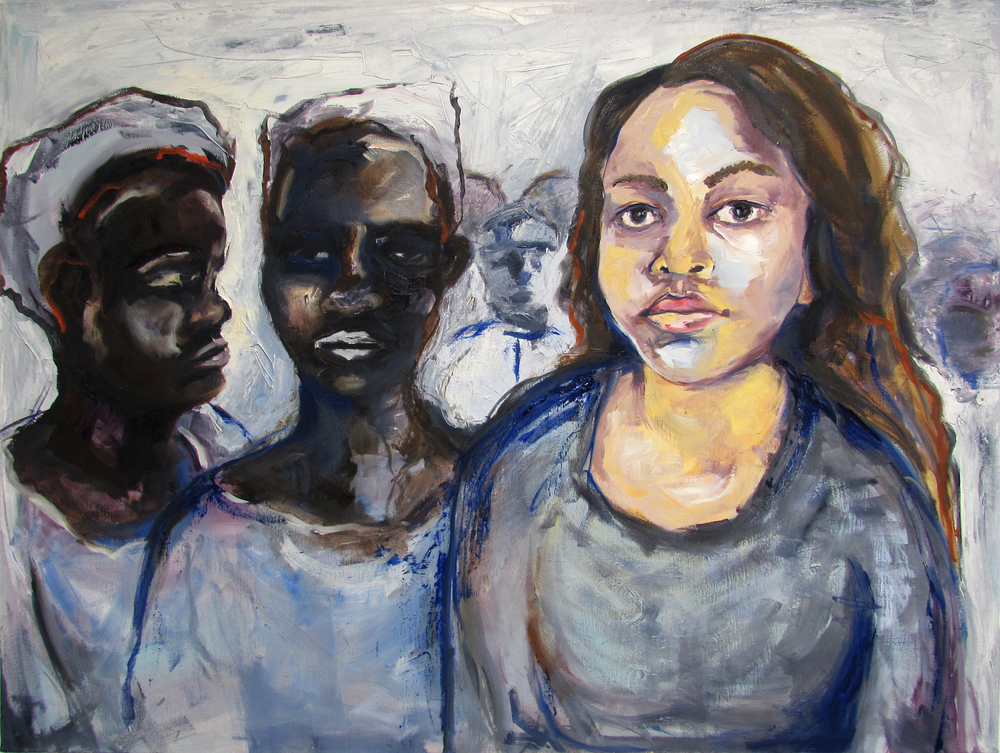 Being Heard  | oil on canvas | 42 x 30 inches | 2015