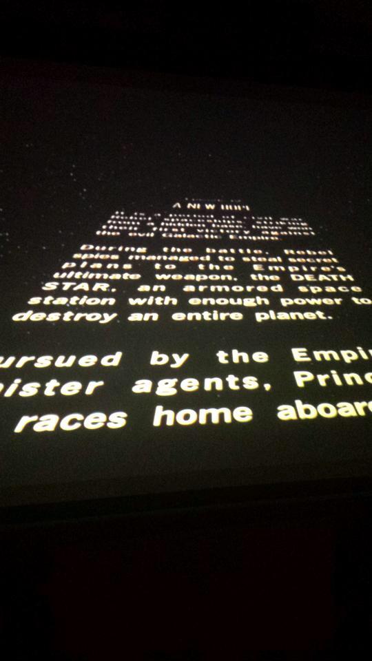 EntComm's Star Wars Movie Marathon
