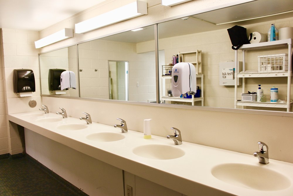 The common bathroom