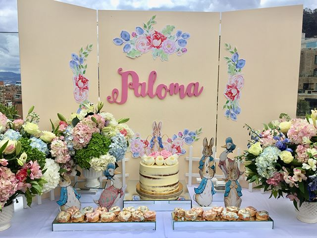 Eventos con mucho amor! Celebrando dos años de Paloma 🐰🌸 http://www.bebedc.com/eventos/  #bebedc #eventosbebedc #fiestasniños #partyplanning