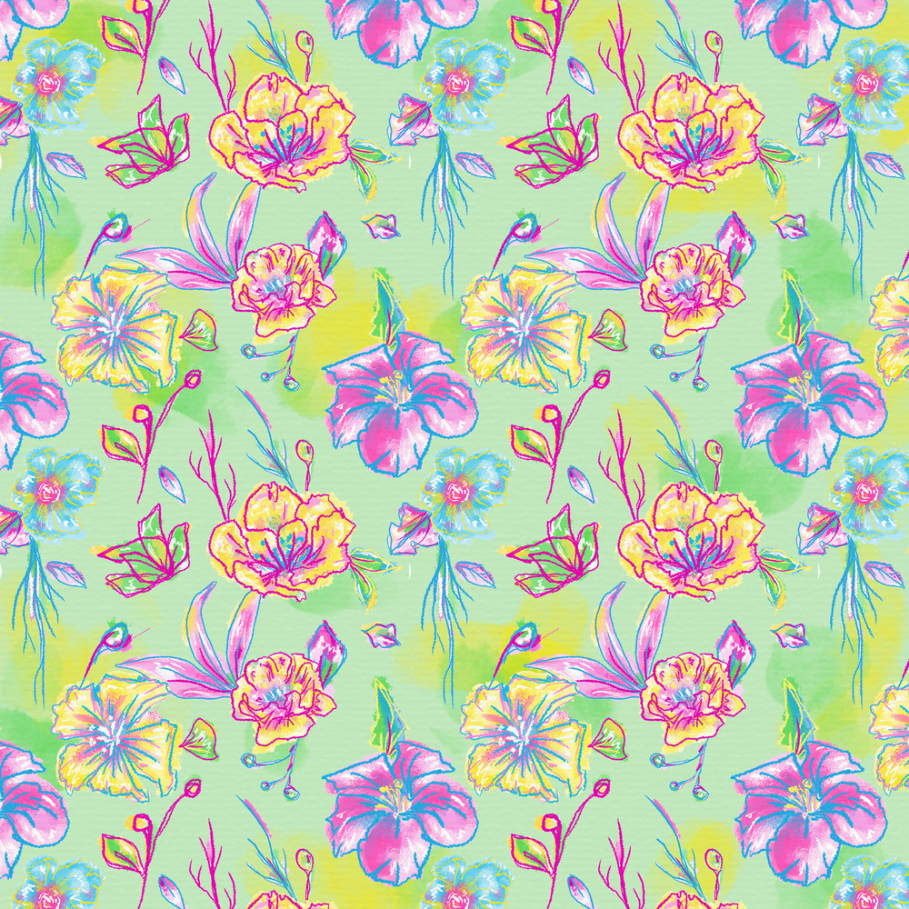 Floral Dokino green 10192015.jpg